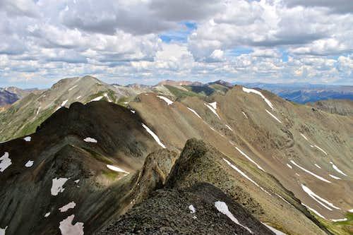 Traverse to American Peak