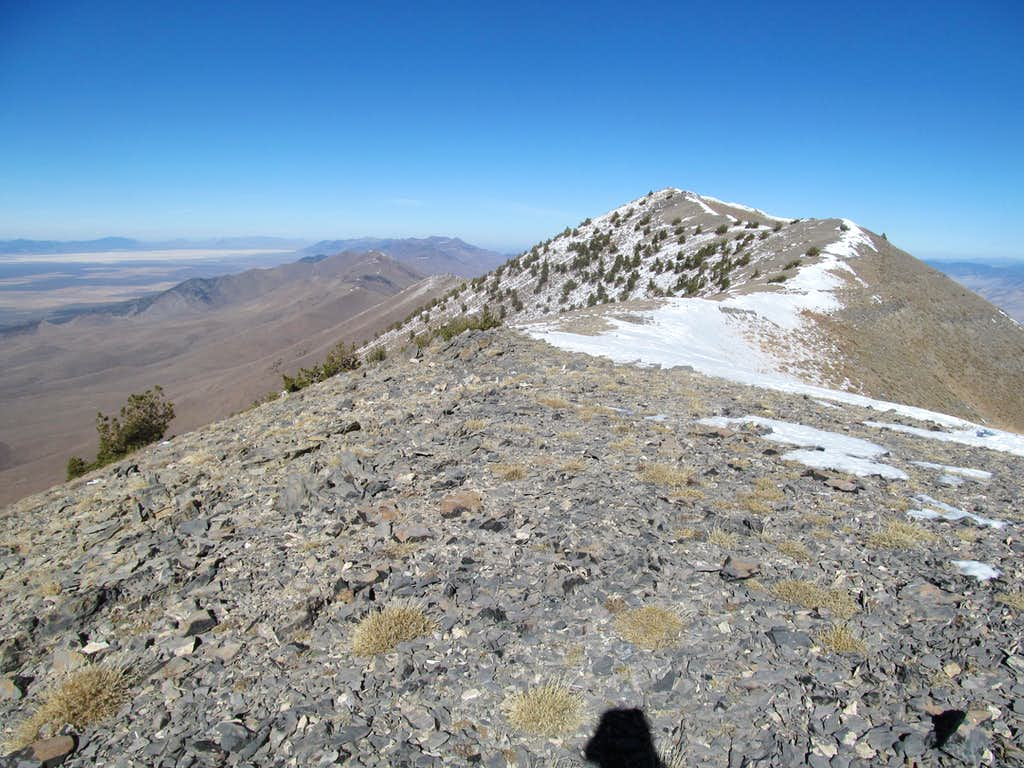 looking at the true summit