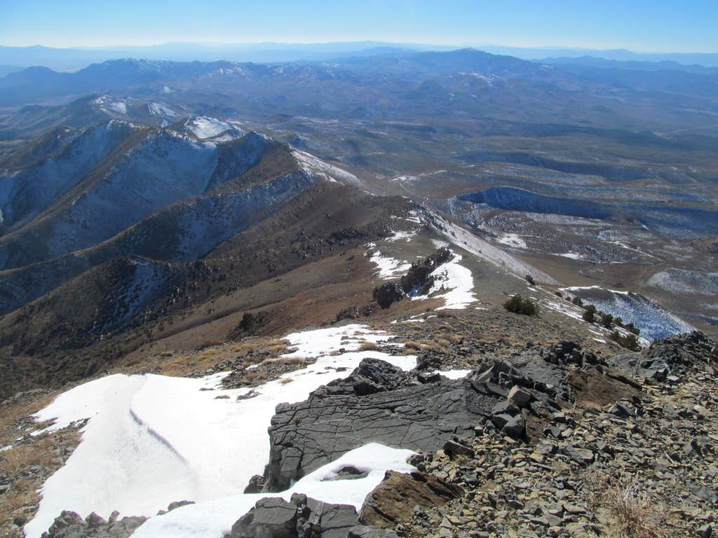 south from south summit
