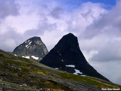 Kongen and Bispen, Romsdal Alps