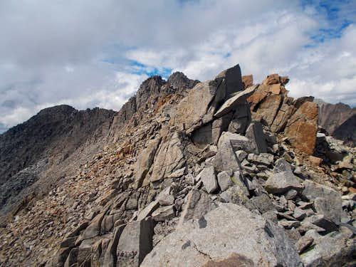 Wheeler Peak summit ridge