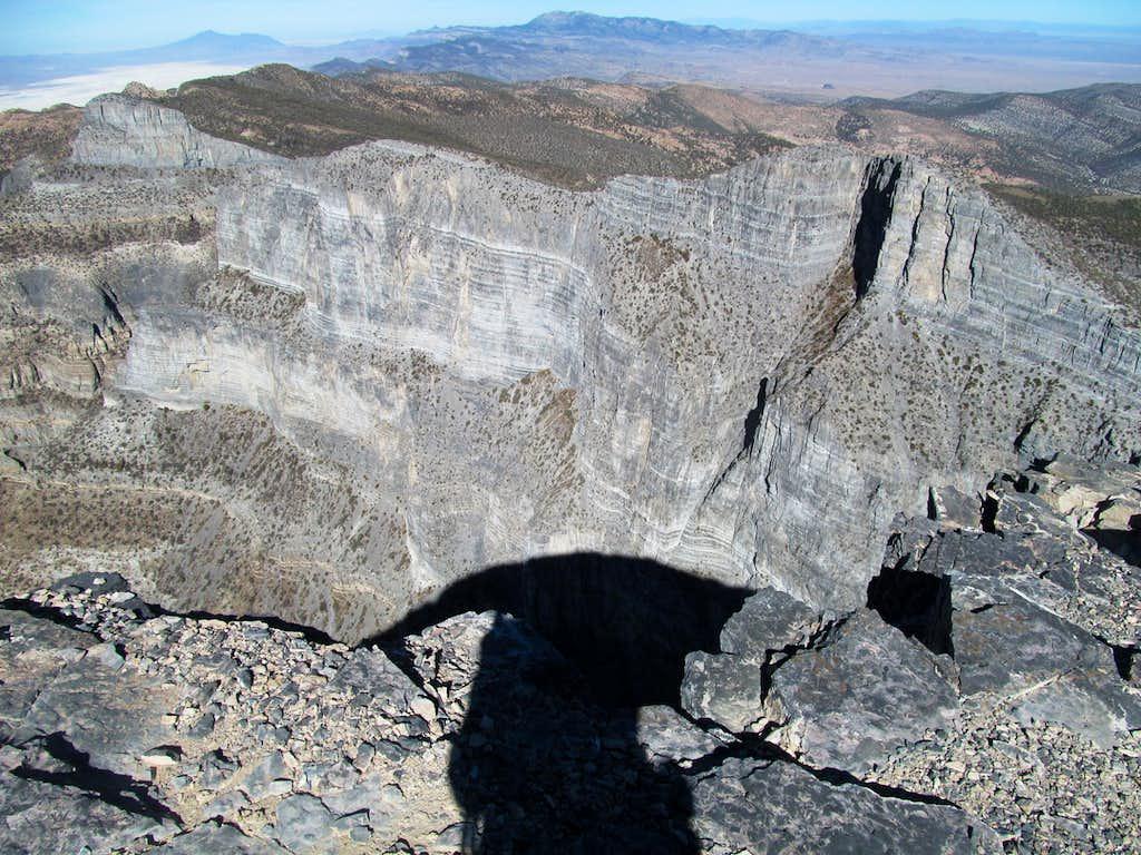 near the edge