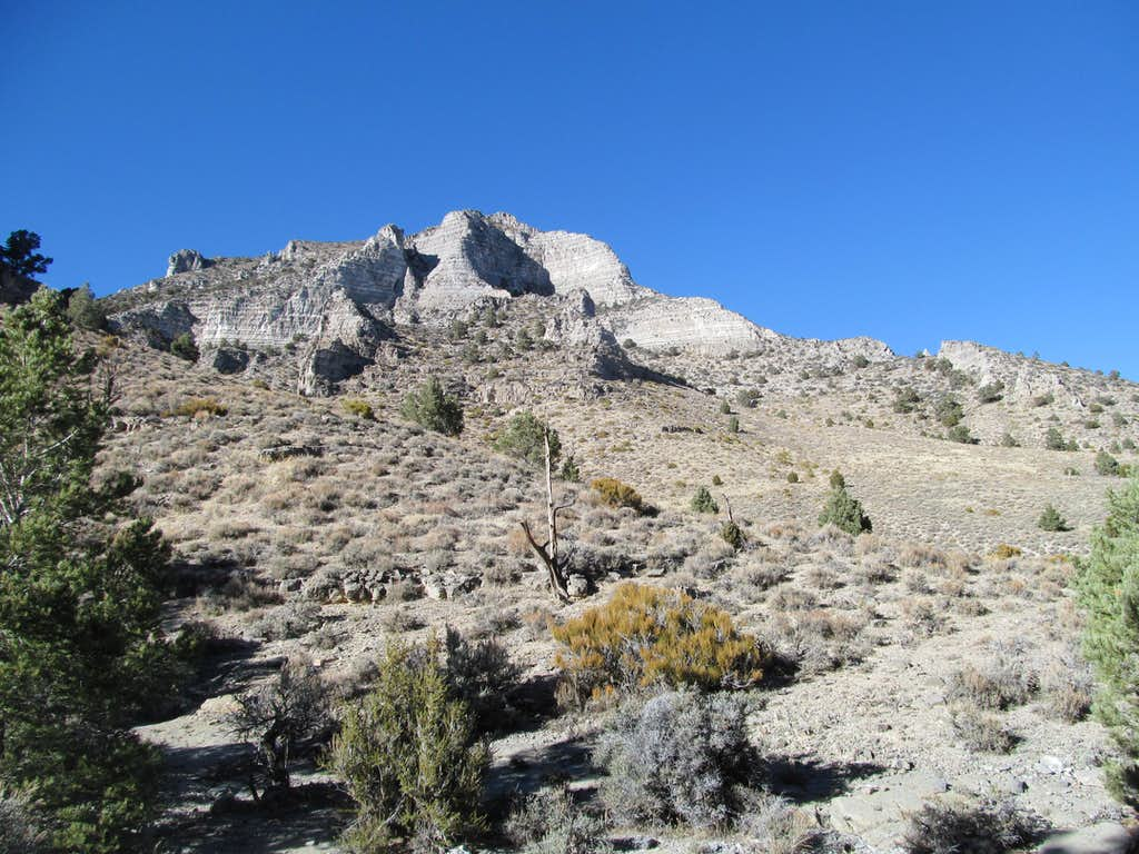 near the exit of Sawtooth Canyon