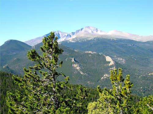 Longs Peak from Gianttrack