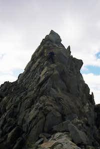 On the ridge to North...