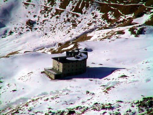 l'Arp Refuge climbing on West Face of Valnera 2006