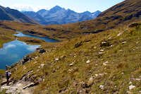 Palasinaz Area To Bussola Pass with Battle Lochs 2006