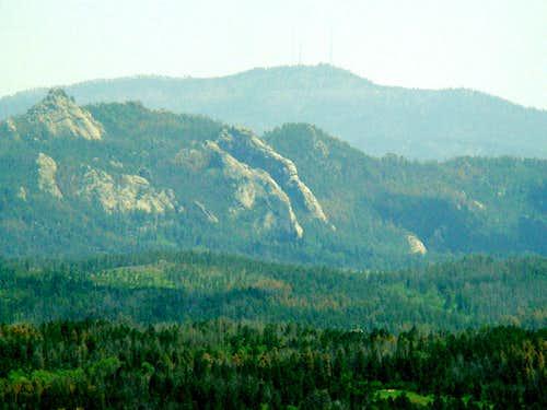 Bear Mt. View of Buckhorn Mt. and Mt. Coolidge