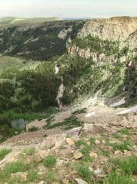 Bull Mountain from Clear Creek July 2014