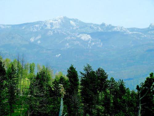 Bear Mt View of Black Elk Peak