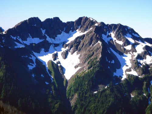 Skokomish Northwest Face
