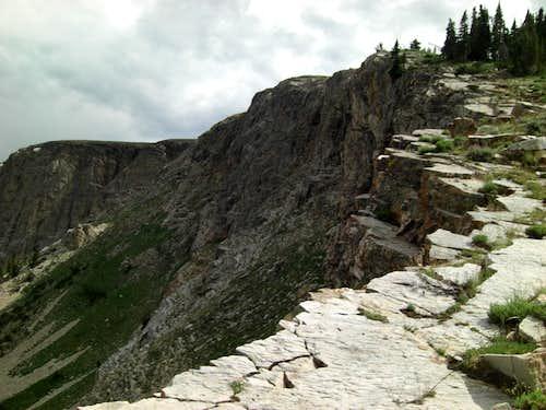 Bull Mountain Trail Cirque Edge