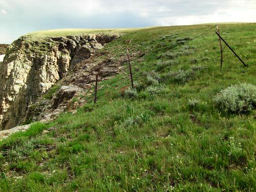 Bull Lake Cirque Fence-line