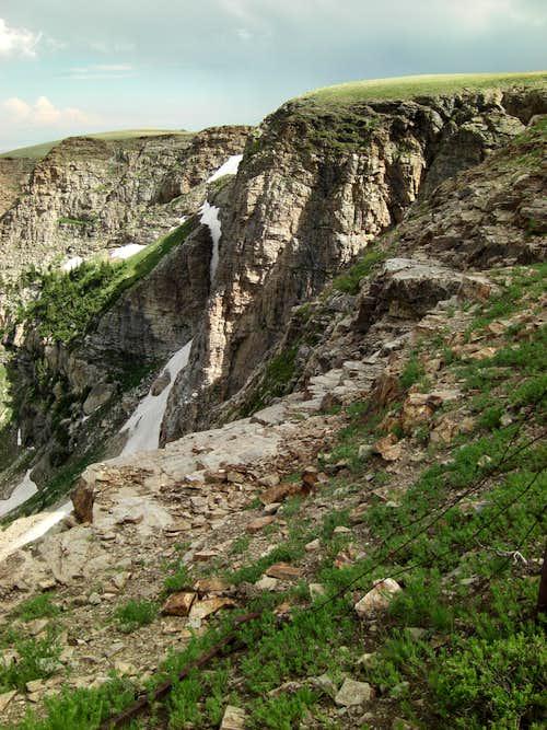 Bull Lake Cirque High Edge