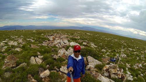 Bull Mountain Highpoint Selfie