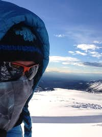 Sun at Camp 2