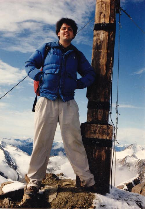 Me on Kreuzspitze in August 1992