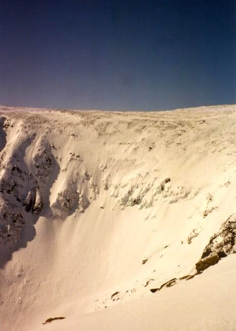 Tuckerman Ravine as seen from...