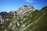 On Monte Schenone / Lipnik E ridge