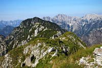 Monte Schenone / Lipnik W views