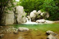Creek of Paklenica on Velebit