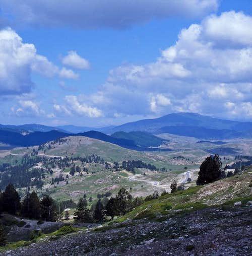 epiro mountains near joannina