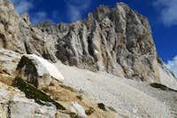 Monte Camicia (west face)