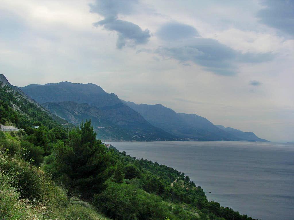 View from jadranska Cesta