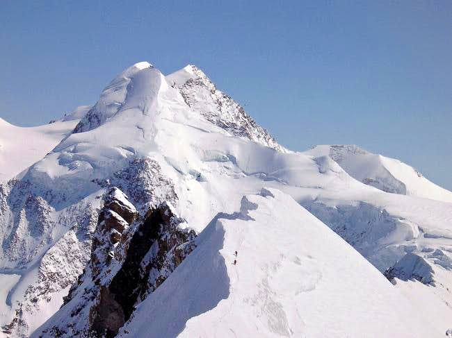 Breithorn Central and Liskam...