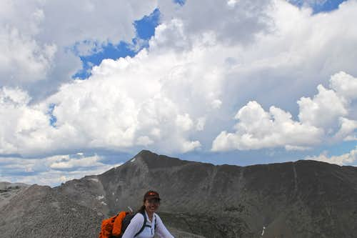Mt. Antero as seen from White\'s summit