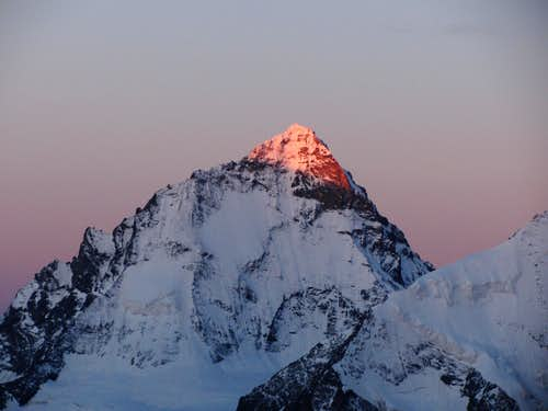 Dent Blanche at sunrise