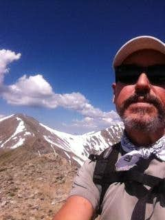 Mt Edwards selfie with Grays & Torreys in background