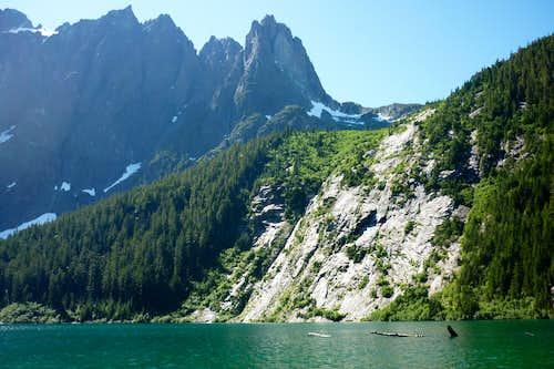 Elk River Trail to Landslide Lake 2011