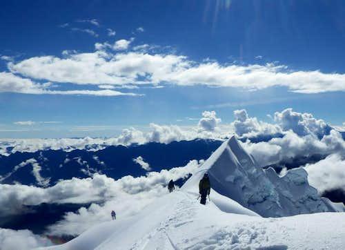 Humantay Summit Ridge