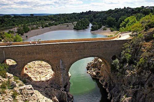 Hérault river - Pont de Diable