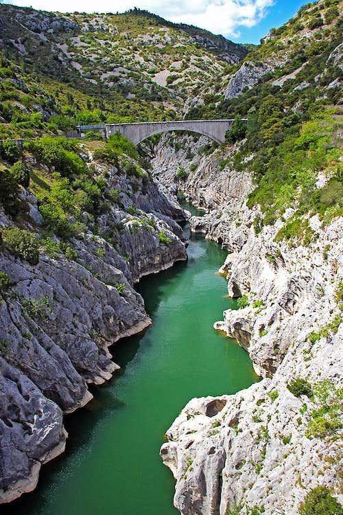 Gorges of Hérault river