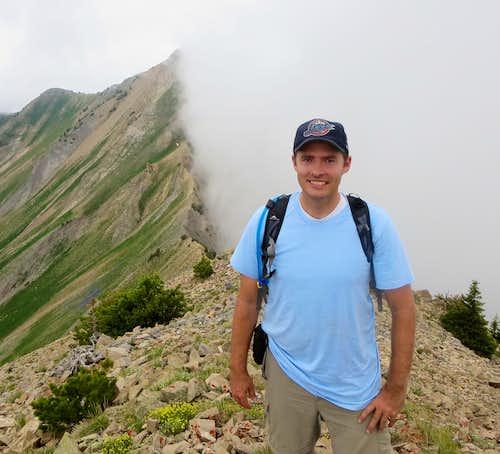 East Provo Peak summit shot