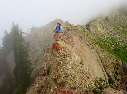 Brandon on Provo Ridge