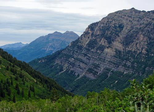 Big Wasatch peaks