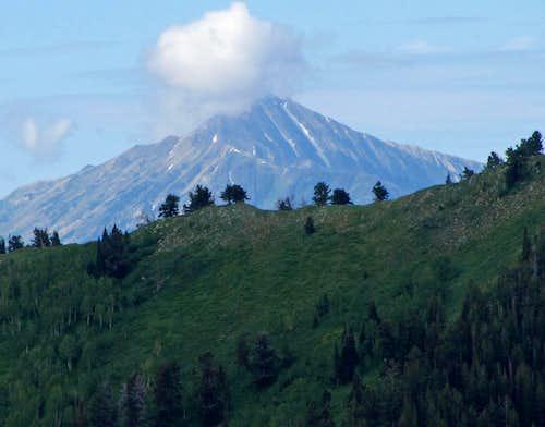 Nebo from Provo Peak