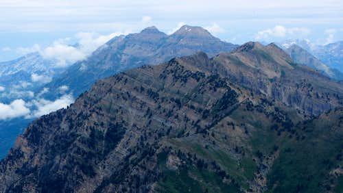 Provo Peak summit view