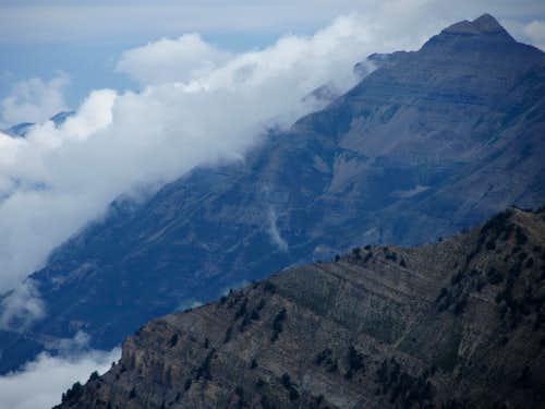 Timpanogos clouds