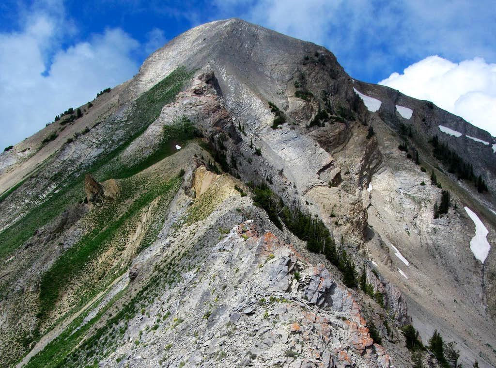 Provo Peak east ridge