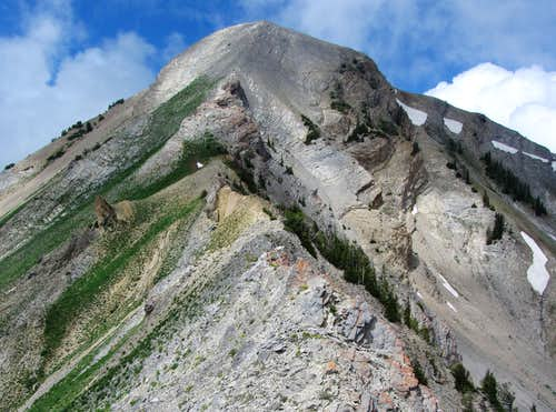 Provo Peak east ridge