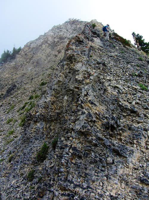East Provo Peak descent