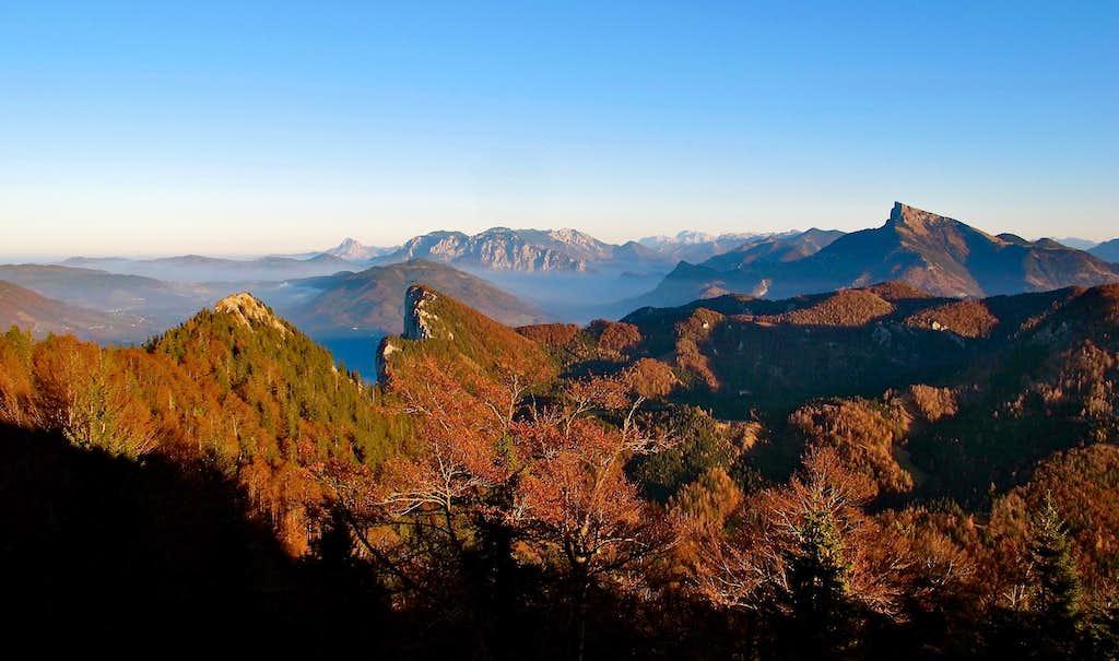 Autumn view from Frauenkopf