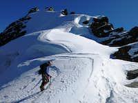 The south east ridge