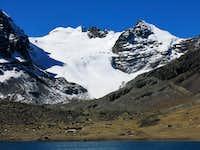 Tarija & Nevado Illusion from Base Camp