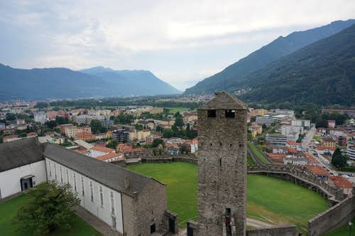 Bellinzona and its famous Castles