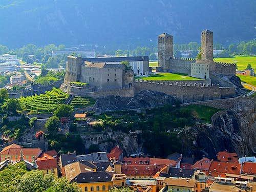 Bellinzona fortifications